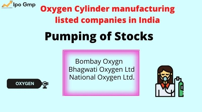Oxygen Cylinder manufacturing listed companies