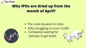 IPOs are dried up