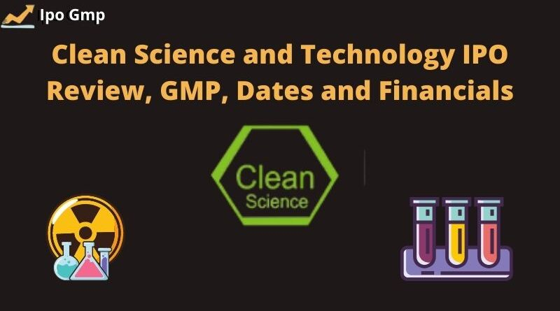 Clean Science IPO GMP