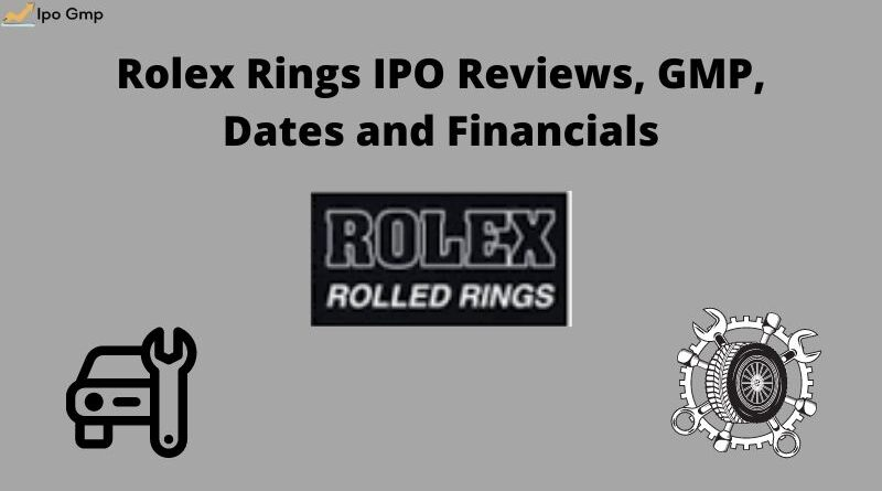 Rolex Rings IPO GMP